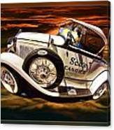See's Car Canvas Print