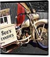 See's Motocycle Canvas Print