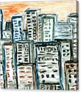 Segments Canvas Print