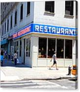 Seinfeld Diner Location Canvas Print
