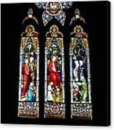 Selby Stained Glass Canvas Print
