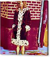 Self Paintlet 1975 Canvas Print