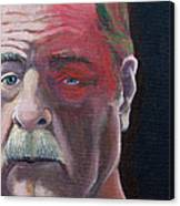 Self Portrait With Shingles Canvas Print