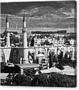 Selimiye Mosque Formerly St Sophia Cathedral In Northern Turkish Controlled Nicosia Cyprus Canvas Print