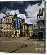 Semper Opera House Dresden - A Beautiful Sight Canvas Print