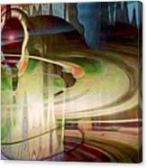 Sensing The Spheres Canvas Print
