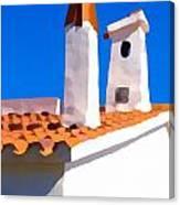 Sentinel Chimneys Canvas Print
