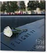 September 11 Memorial Flower Canvas Print