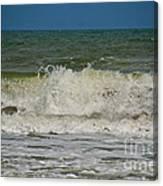 September Beach 2 Canvas Print