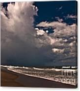 September Beach Canvas Print