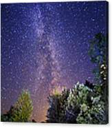 September Night Sky Canvas Print