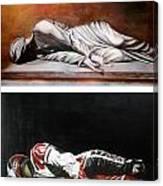 September Sixth Diptych Canvas Print