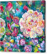 Serendipity Floral Canvas Print