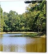 Serene Lake In September Canvas Print
