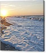Serene Sunrise Canvas Print