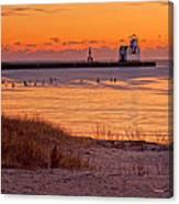 Serenity Beach Canvas Print