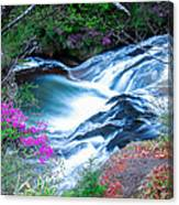 Serenity Flowing Canvas Print