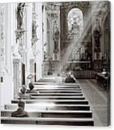 Zen Of Prayer Canvas Print