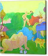 Settlers Canvas Print