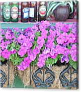 Seven Bottles Of Beer On The Wall Canvas Print