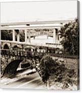 Seven Bridges View Canvas Print