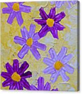 Seven Flowers Canvas Print