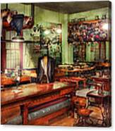 Sewing - Industrial - The Sweat Shop  Canvas Print