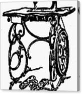 Sewing Machine Canvas Print