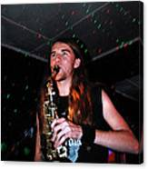 Sexy Sax Man Canvas Print