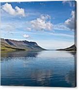 Seydisfjordur Fjord Canvas Print