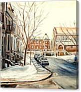 Shaar Hashomayim Westmount Montreal  Canvas Print