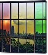 Shades Of New York Canvas Print