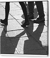 Shadow People Canvas Print