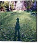 Shadows Long Canvas Print