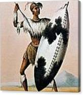 Shaka Zulu (c1787-1828) Canvas Print