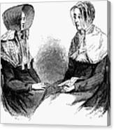 Shaker Women, 1875 Canvas Print