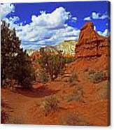Shakespeare Trail In Kodachrome Park Canvas Print