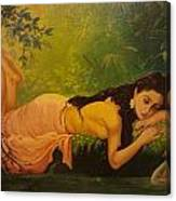 Shakuntala Canvas Print