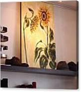 Shall We Dance At Alfio Boutique Italiano Canvas Print