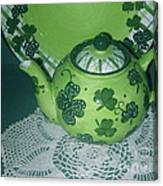 Shamrock Tea Canvas Print