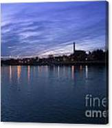 Shannon River Estuary At Limerick Canvas Print