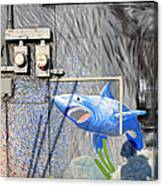 Shark Bite Canvas Print