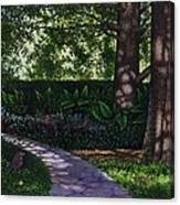 Shaw's Gardens Stone Pathway Canvas Print