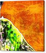 She Walked Toward The Sunrise Canvas Print