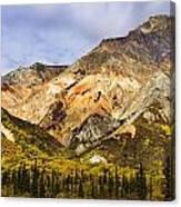 Sheep Mountain Along Glenn Highway Canvas Print