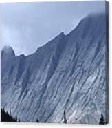 Sheer Mountain Face Canvas Print