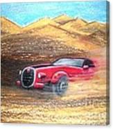 Sheikhs Dirt Racer Canvas Print