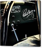 Shelby Cockpit Canvas Print