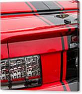 Shelby Gt500 Convertible Canvas Print
