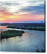 Shelby Lake Monday Hurricane Canvas Print